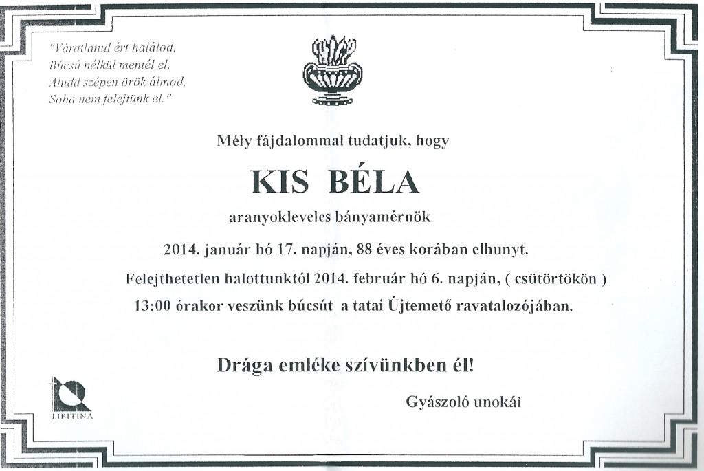 Kis Béla