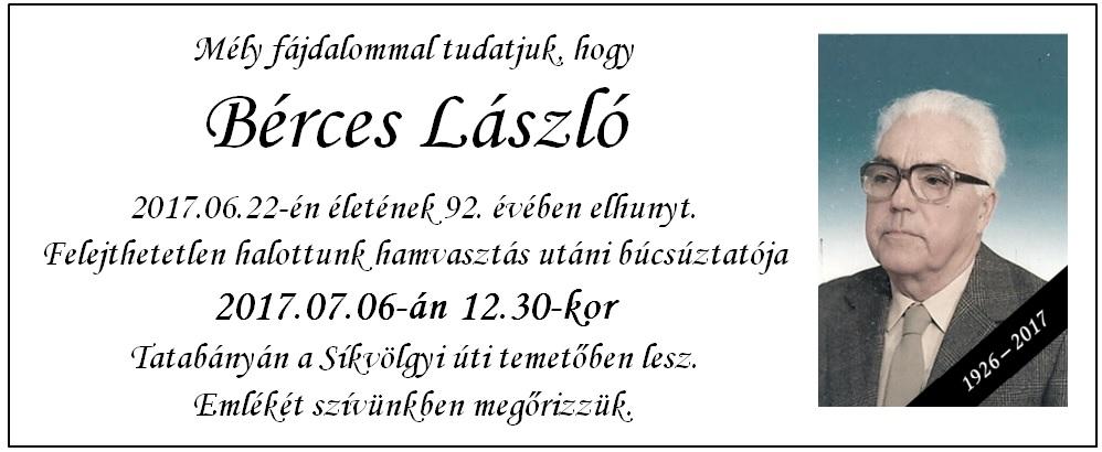 Bérces László